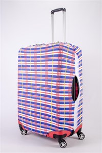 "Чехол для большого чемодана ""SummerCool синий"" 13489"