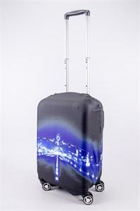 """Чехол для маленького чемодана """"самолет на взлете"""" 13528"""