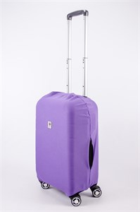 """Чехол для маленького чемодана """"однотонный фиолетовый"""" 13557"""