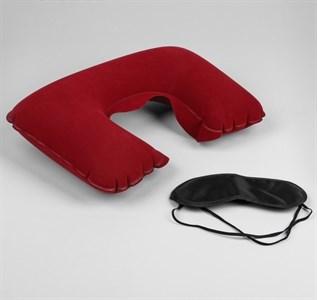 Набор путешественника: подушка для шеи, маска для сна  563998