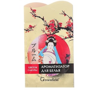 Освежитель воздуха Ароматизатор  Greenfield Цветок Сакуры   4615509