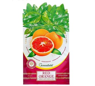 """Освежитель воздуха Ароматизатор  Greenfield """"Red Orange""""   4615508"""