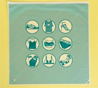 Пакет для хранения вещей «Всё самое важное», 40 × 40 см   3929689