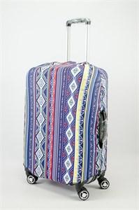 """Чехол для среднего чемодана """"узоры и линии"""" 13623"""