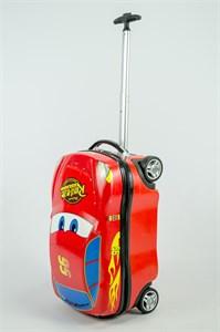 Детский чемодан машинка PC на колесиках в ассортименте