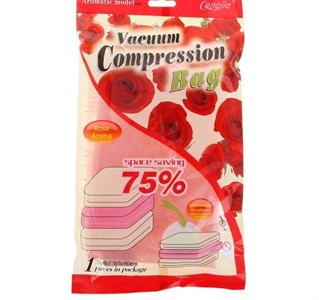"""Пакет вакуумный для хранения вещей 60×80 см """"Роза"""", ароматизированный 944883"""