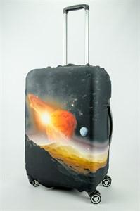 """Чехол для среднего чемодана """"планеты"""" 13690"""