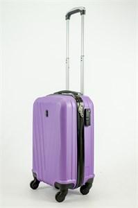 Чемодан маленький ABS Freedom (буква V) фиолетовый  ЧФ