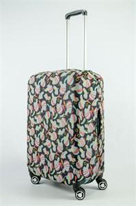 """Чехол для среднего чемодана """"девушка в головном уборе"""" 13732"""