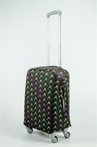 """Чехол для маленького чемодана """"радужные звезды"""" 13723"""