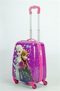 Детский чемодан PC на колесиках фиолетовый 13836