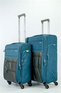 Комплект текстильных чемоданов impreza (L+M)
