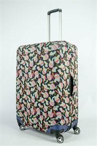 """Чехол для большого чемодана """"женщина с серьгой"""" 13866"""