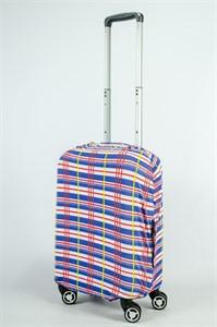 """Чехол для маленького чемодана """"Summercool синий"""" 13845"""