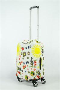 """Чехол для маленького чемодана """"Хиппи"""" 13842"""