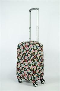 """Чехол для маленького чемодана """"женщина с серьгой"""" 13881"""