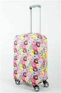 """Чехол для маленького чемодана """"пончик"""" 13885"""