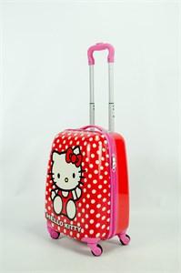 Детский чемодан PC на колесиках розовый 13946