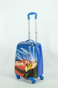 Детский чемодан PC на колесиках синий  13949