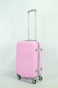 Чемодан маленький ABS NN (волны) розовый СФ