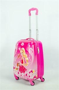 Детский чемодан PC на колесиках розовый 13947