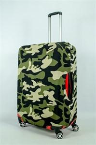 """Чехол для большого чемодана """"камуфляж"""" 13977"""