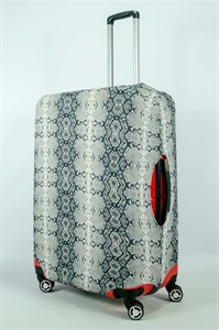 "Чехол для большого чемодана ""шкура питона"" 13972"