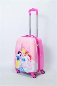 Детский чемодан PC на колесиках розовый 13992