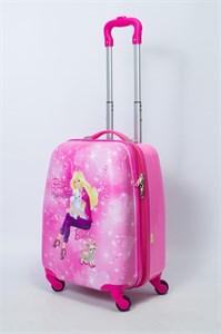 Детский чемодан PC на колесиках розовый 13994