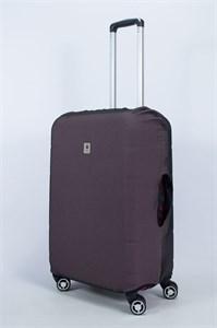 """Чехол для среднего чемодана """"однотонный бурый"""" 14010"""