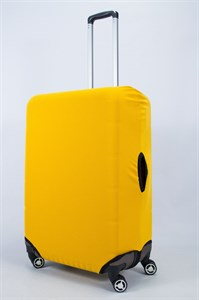 "Чехол для большого чемодана ""однотонный желтый""  14025"