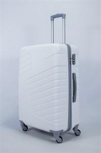 Чемодан большой ABS OCCE (вафли) белый