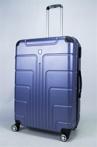 Чемодан большой PC фиолетово-синий