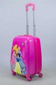 Детский чемодан PC на колесиках розовый 14085