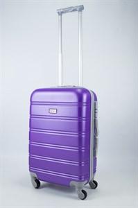 Чемодан маленький ABS Union (гориз. полоски) фиолетовый