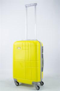 Чемодан маленький ABS Union (кубик) жёлтый