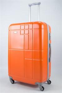 Чемодан большой ABS Union (кубик) оранжевый