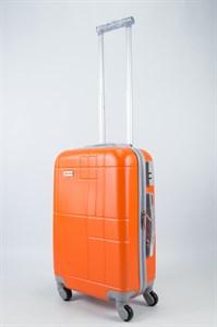 Чемодан маленький ABS Union (кубик) оранжевый