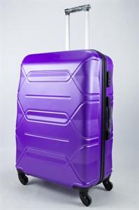 Чемодан большой ABS TT фиолетовый съёмные колёса ЧФ