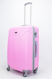 Чемодан большой ABS Ananda (3 полосы) розовый
