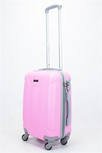 Чемодан маленький ABS Ananda (3 полосы) розовый