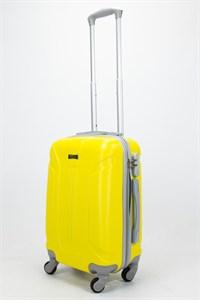 Чемодан маленький ABS Ananda (3 полосы) желтый