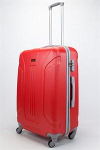Чемодан большой ABS Ananda (3 полосы) красный