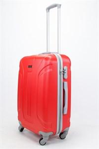 Чемодан средний ABS Ananda (3 полосы) красный