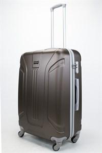 Чемодан большой ABS Ananda (3 полосы) коричневый