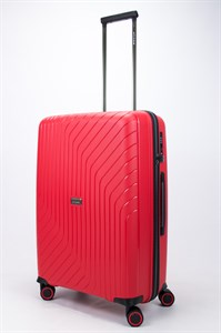Чемодан средний PP L`case (S-образные полосы) красный