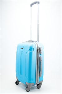 Чемодан маленький ABS Ananda (3 полосы) голубой