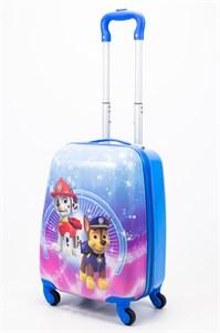 Детский чемодан PC на колесиках синий