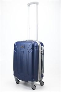 Чемодан маленький ABS Ananda (3 полосы) темно-синий