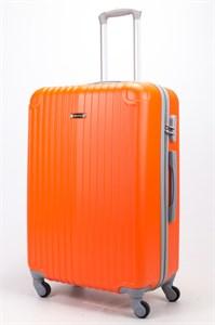 Чемодан большой ABS Ananda (верт. полоски и углы) оранжевый